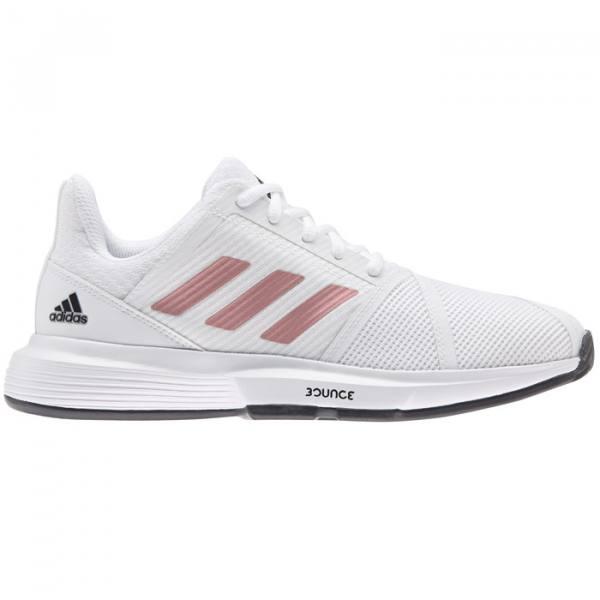 zapatillas adidas courtjam bounce woman blancas