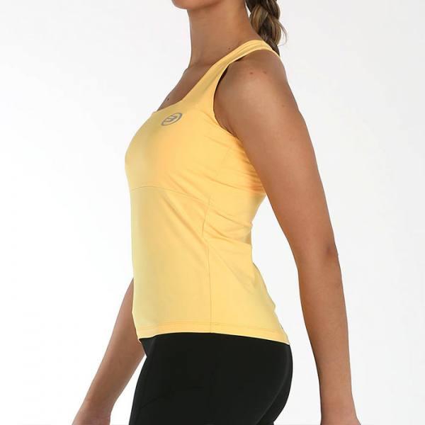 camiseta bullpadel paicol albaricoque 2021