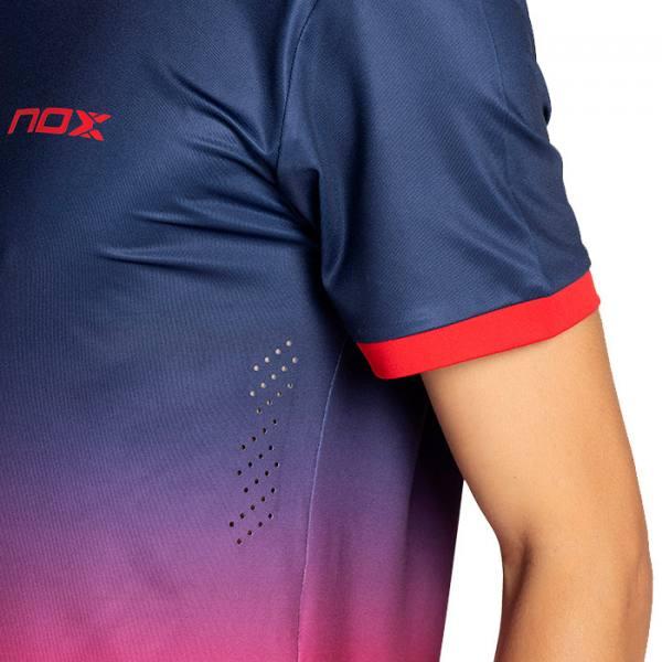 camiseta nox pro azul