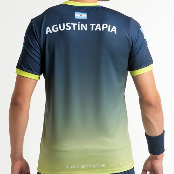camiseta nox sponsors at10 azul lima back