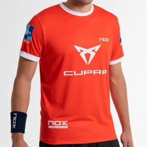 camiseta nox sponsors at10 team roja