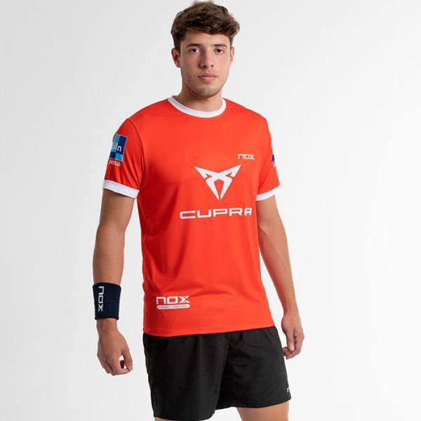 camiseta nox sponsors at10 team roja tapia