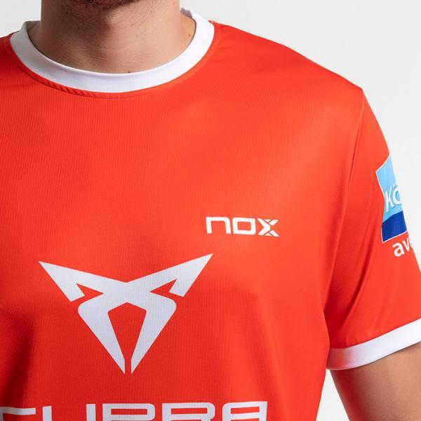 camiseta nox sponsors at10 team roja zoom