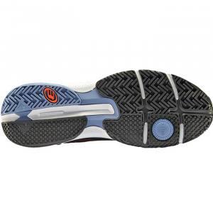 zapatillas bullpadel hack hybrid fly azul marino 21
