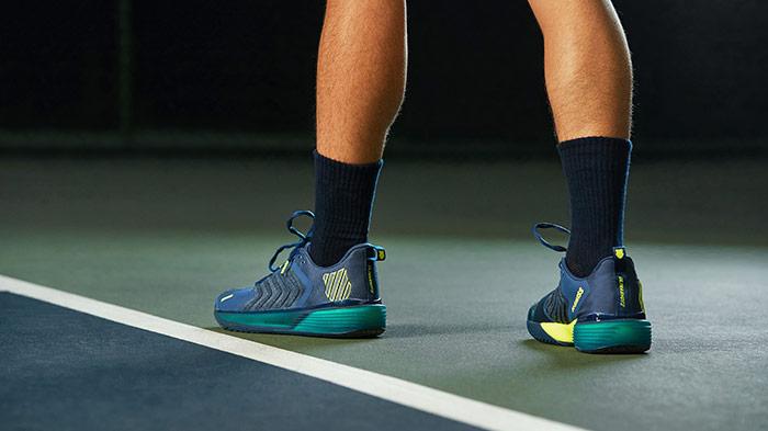 zapatillas kswiss ultrashot azules